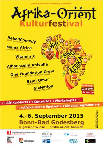 Afrika-Orient Kulturfestival Bonn 2015